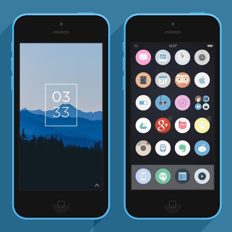 15 Android & iPhone Homescreens & Lockscreens | Homescreen