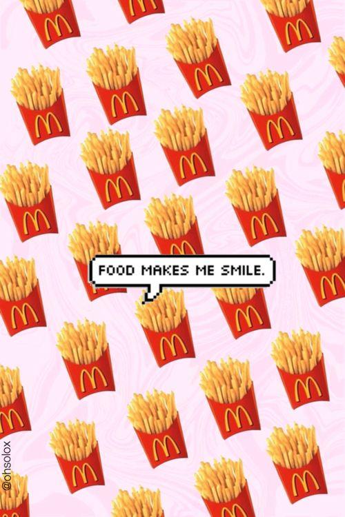food makes me smile :)