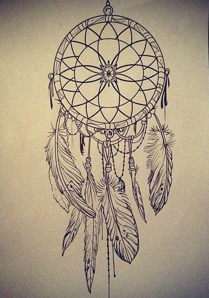 Attrape r ve tatouages for Acchiappasogni disegno
