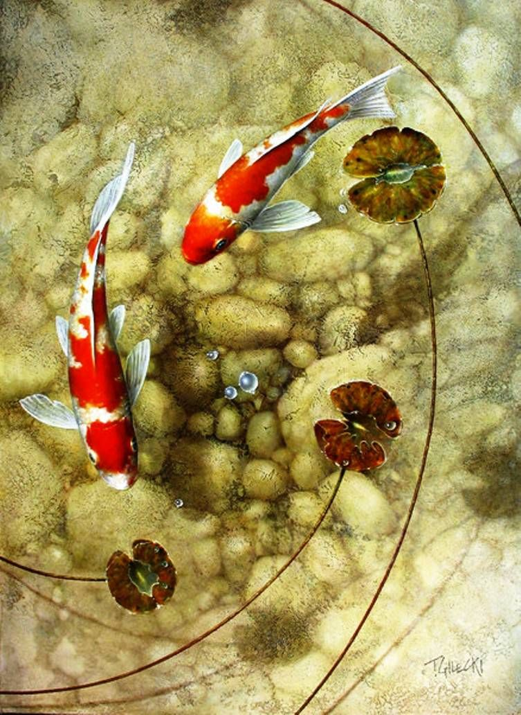 Terry gilecki pinterest for Koi pool thornton