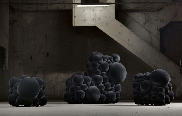 The Mutation series includes sofas, armchairs and poufs. Maarten ...