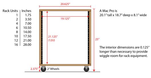 Audio Rack And Desk Audio Rack Rack Diy Rack