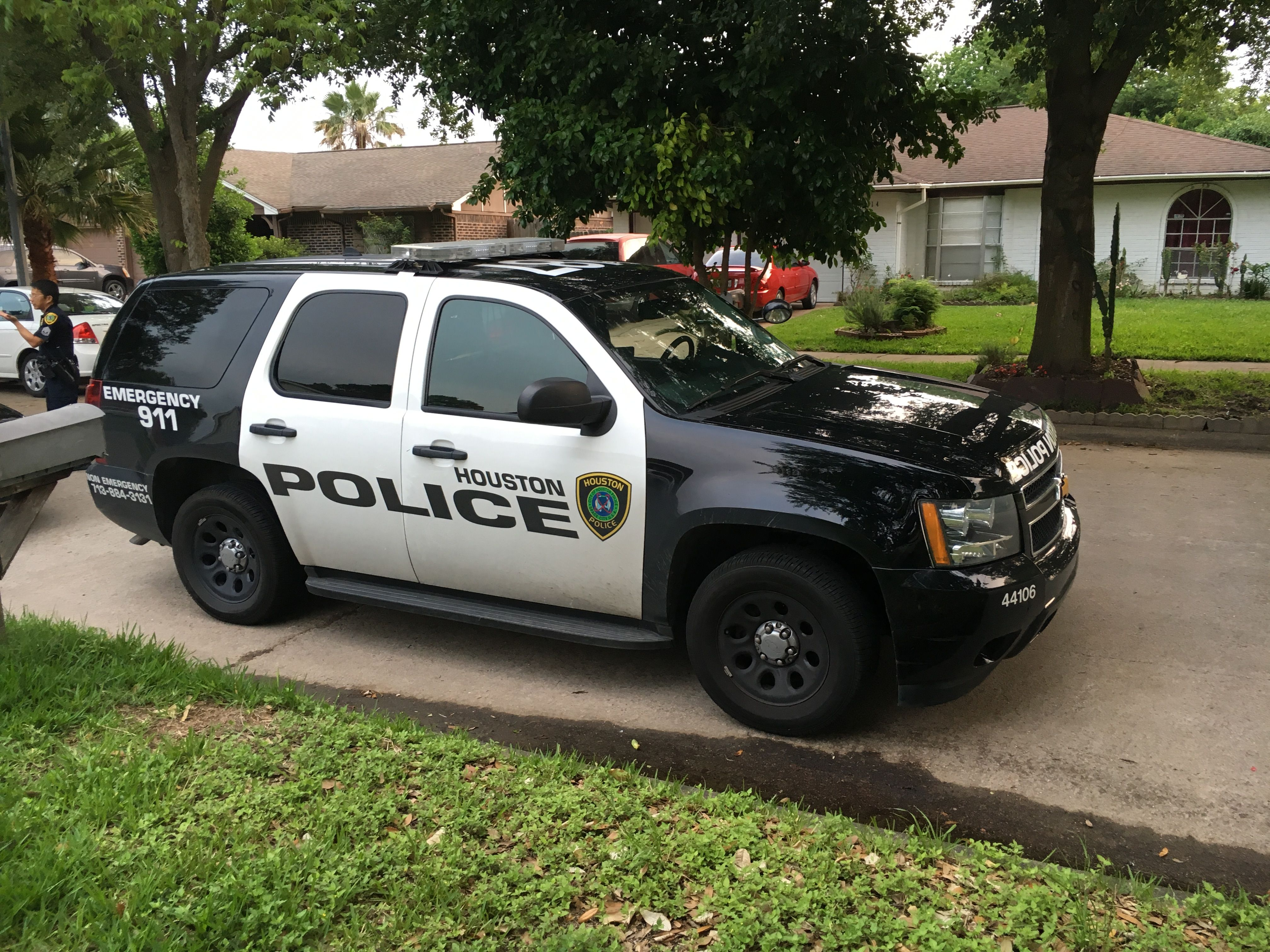 Houston Police Department Chevy Tahoe Police Vehicles