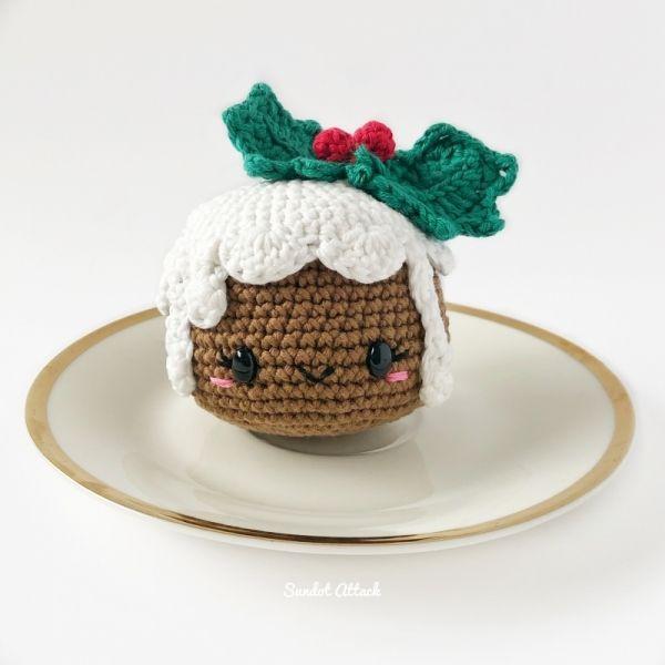 Chrissy Pudding Amigurumi Pattern | amigurumi 3 | Pinterest ...