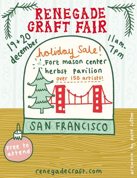 Renegade Craft Fair Holiday Sale