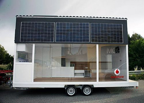 trailer home from waskman design studio vodafone homes gallery - Home Design Studio