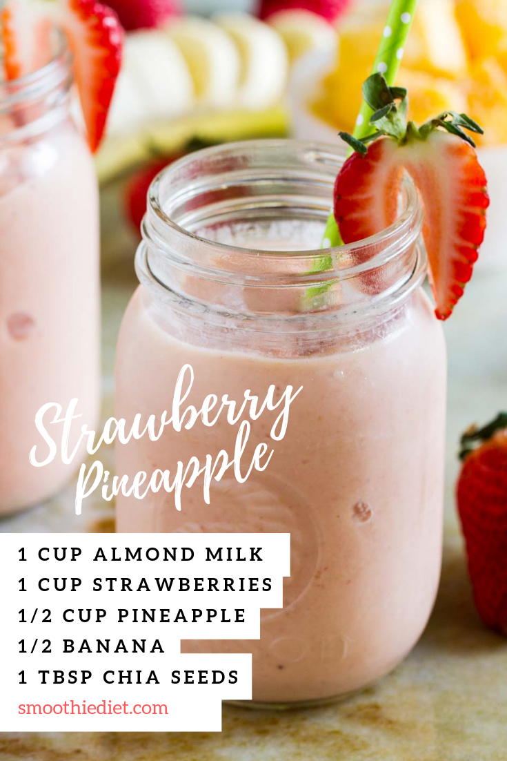 17 day diet pineapple smoothie