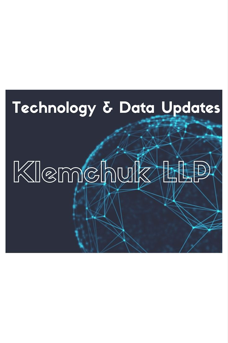 Updates On Technology  Data Law Including Intellectual Property