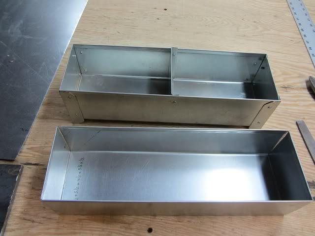 Sheet Metal Bending Brake Practice 102 Two Sheet Metal Boxes Remaches Metal Muebles