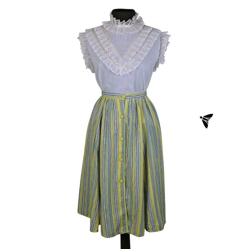 Photo of Vintage Skirt | From the Scent of Geranium | Vatican Moth