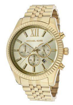 931c7394a75f Michael Kors Watches Michael Kors MK8281 Lexington Gold Toned Men s  Chronograph Watch