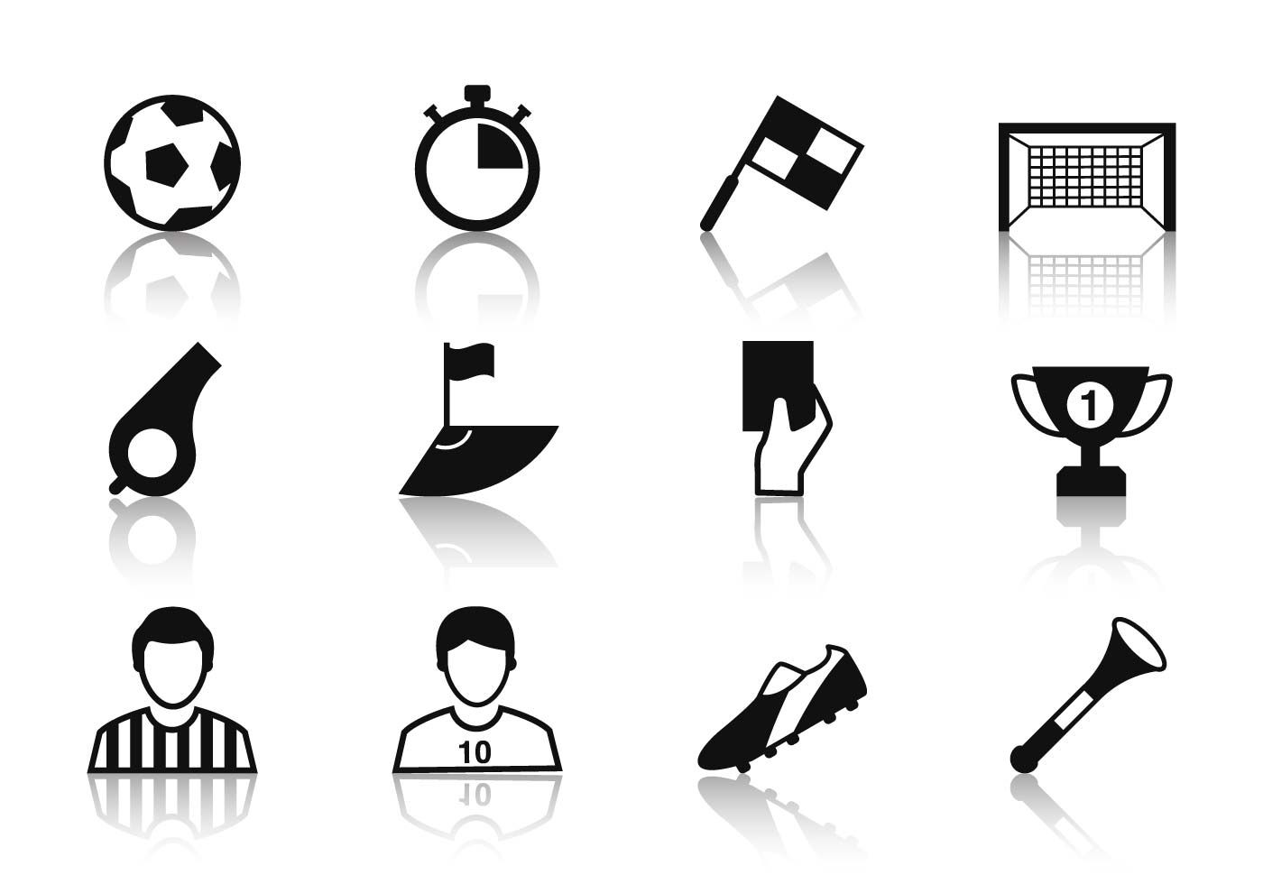 Free Soccer Icons Vector Soccer Icon Vector Free