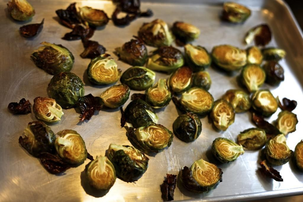 roasted Brussels sprouts Brussel sprouts, Roasted