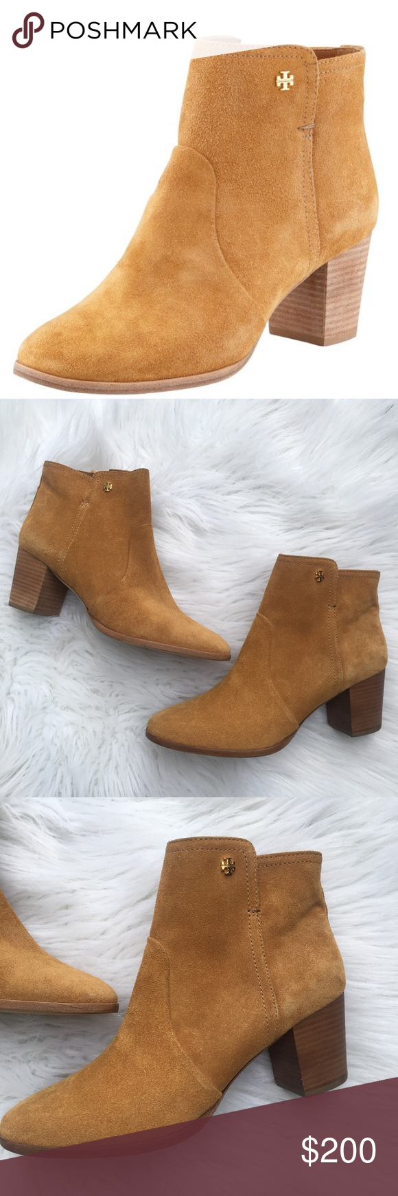 92354a7b12782 Tory Burch Suede Sabe Booties Perfect for fall. I m amazing condition. Worn  to try on only. Size 10. Tory Burch Shoes Ankle Boots   Booties