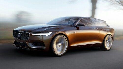 Marvelous Photos: Volvo Concept Estate, A Sexy 2 Door Sport Wagon