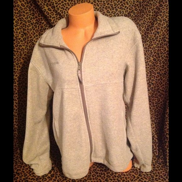 Columbia Jacket M! Columbia jacket tan color good used condition!! Columbia Jackets & Coats