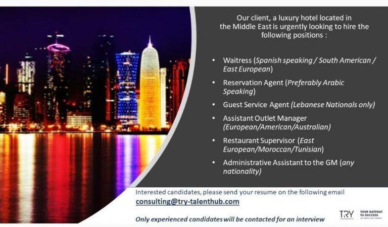 Hospitality Professionals UAE Openings How to speak