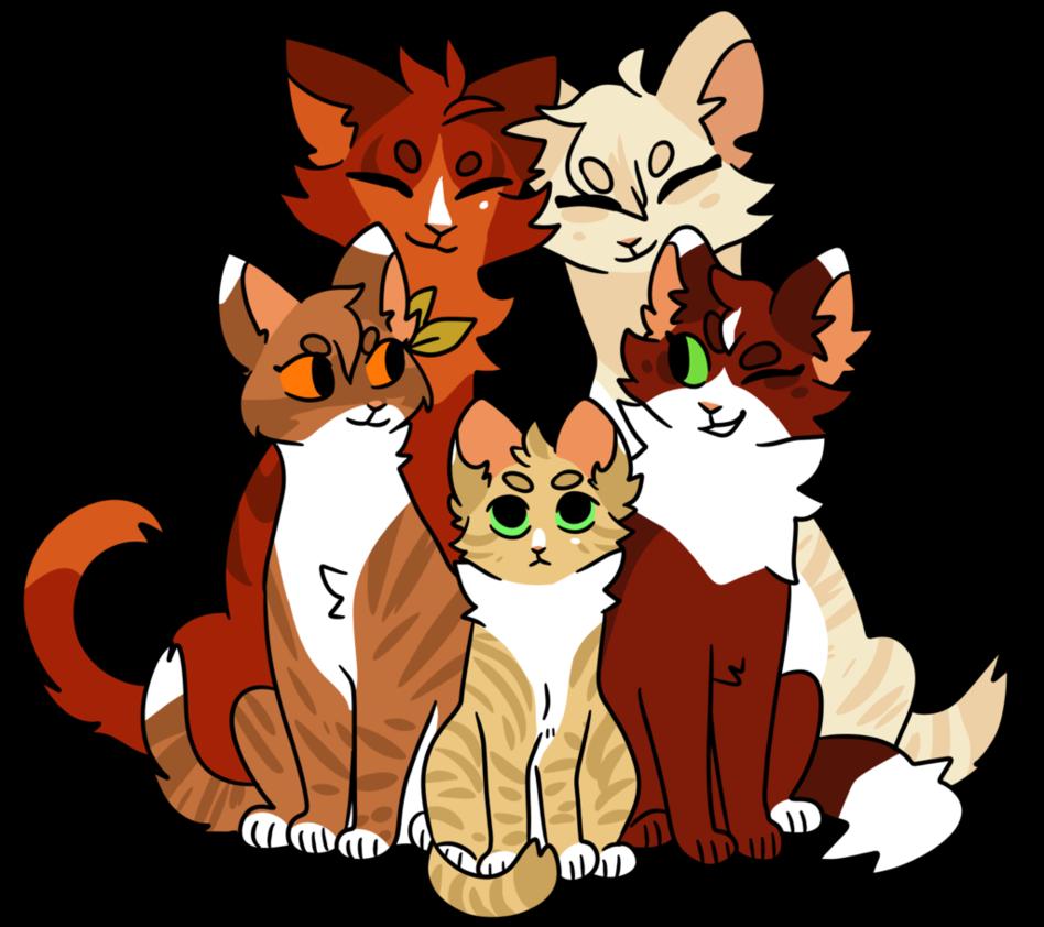 big family by snowylynxx Warrior cats comics, Warrior