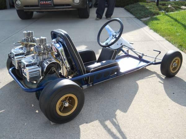 Vintage Karts Go Karting Kart Engines Plans