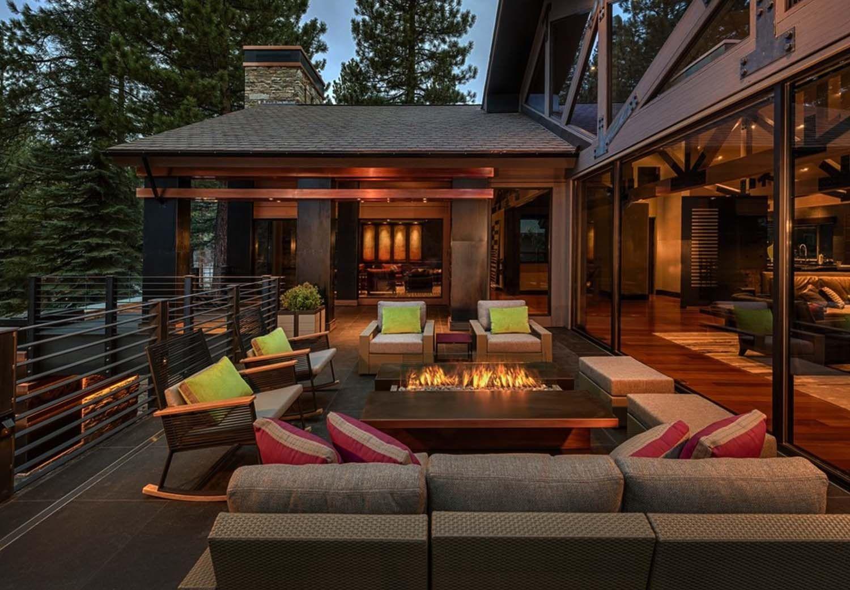 Modern Mountain Dwelling Designed To Soak In Views Of Lake Tahoe