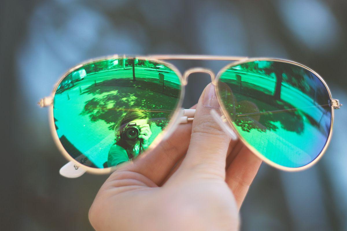 17acad24fa green mirror aviator sunglasses