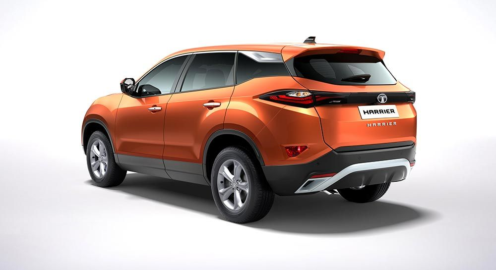 Tata Harrier Rolled Out From Pune Plant First Images Of Tata