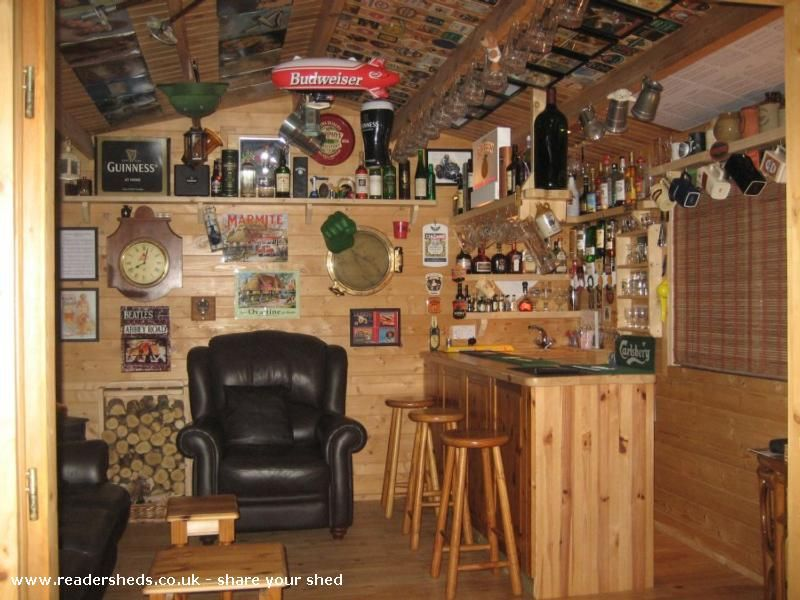 Man Caves Ni : Terrys tavern pub shed from in garden northern ireland