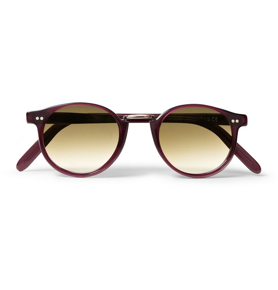 Cutler and Gross - Round-Frame Acetate Sunglasses|MR PORTER