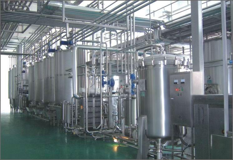 milk processing plant UHT milk processing plant Milk