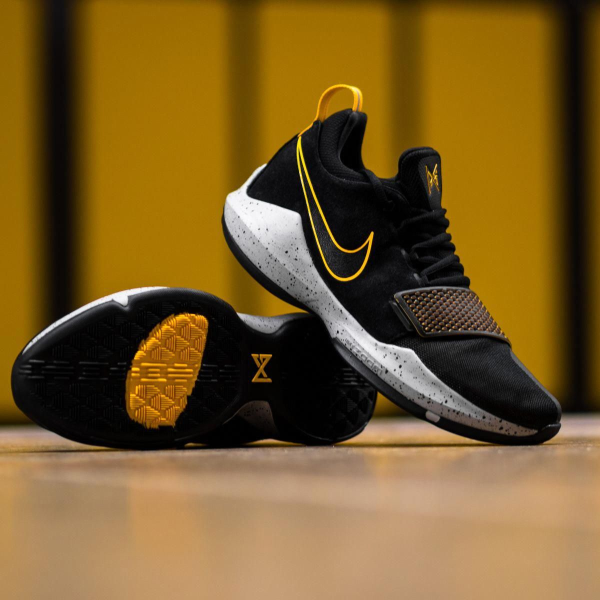 newest 152bf 880f2 Black and yellow! Paul George s latest signature shoe is available now on  KICKZ.com and in our stores! Ballin !  basketballshoes