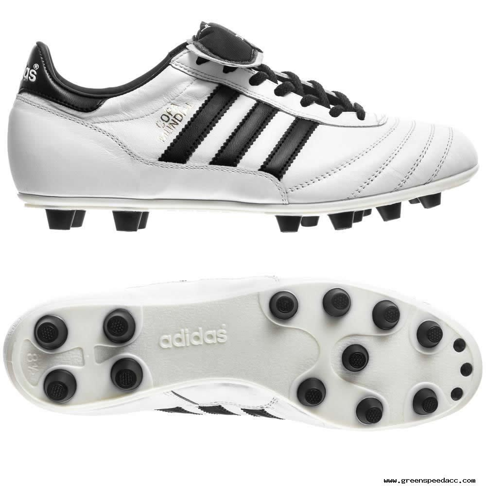 64464ba1001 White Black Gold Adidas Copa Mundial FG Boots Soccer Cleats