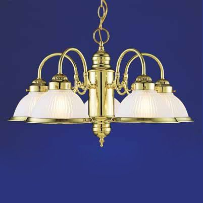 Volume International V4725 5 Light Chandelier