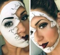 Resultado de imagen para maquillaje de halloween para mujer ideas