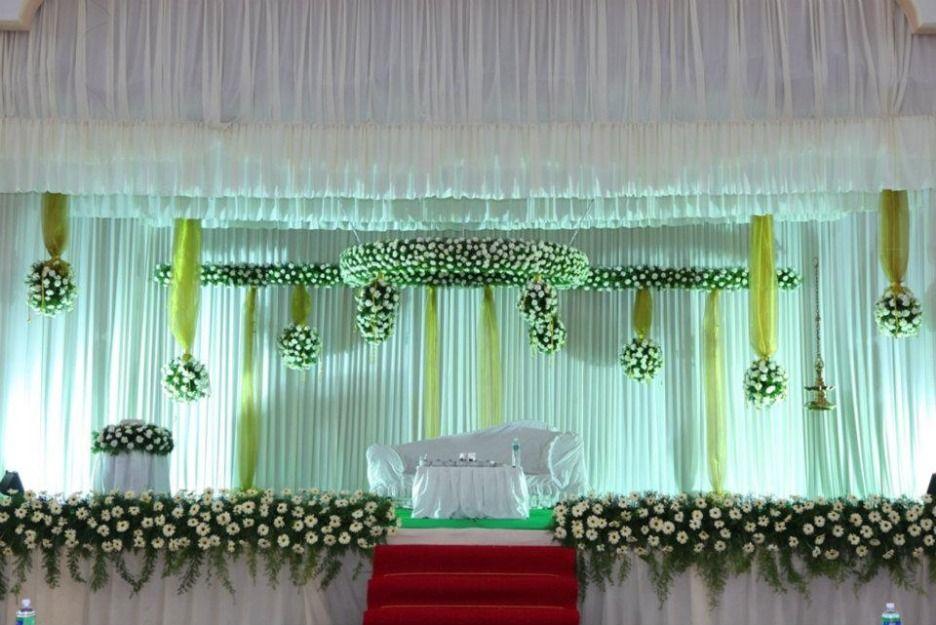 Kerala Wedding Stage Decoration Wedding Stage