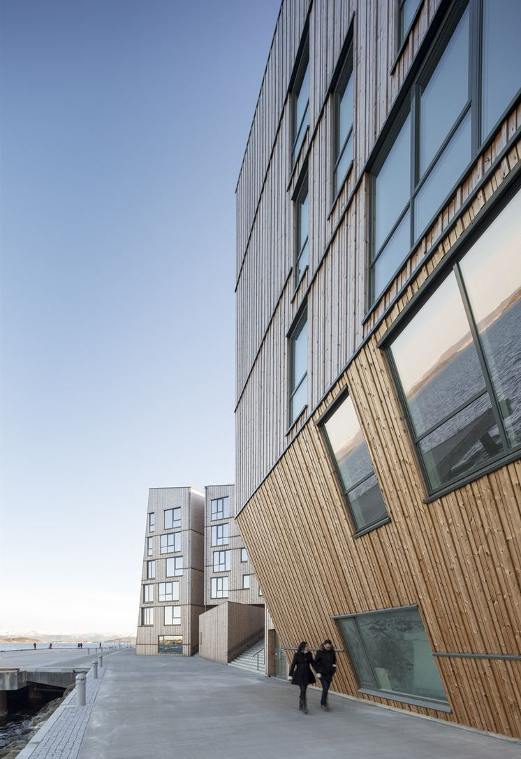 Vannkanten - The Waterfront - Picture gallery #architecture #interiordesign #wood