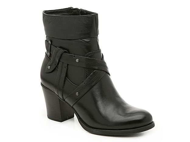 best place super popular entire collection Women Strap Bootie -Black | Boots, Brown leather boots, Shoes