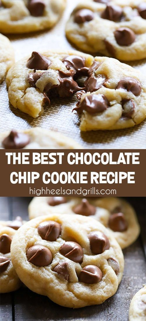 Best Chocolate Chip Cookie #chocolatechipcookies