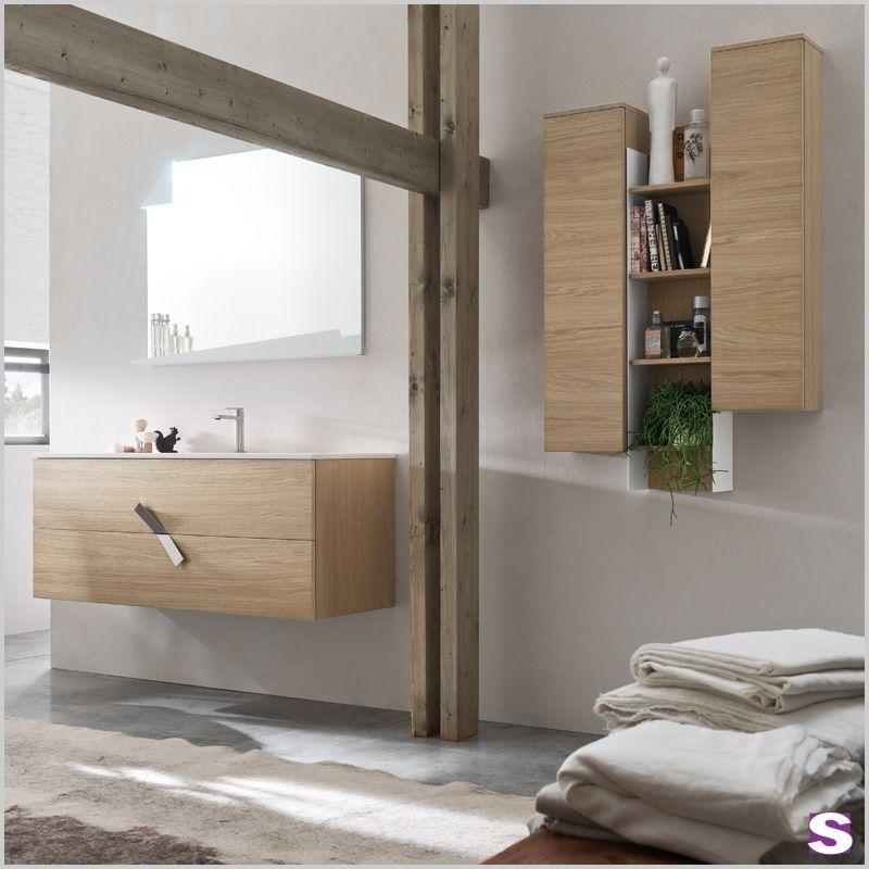 Badmöbel Azius - SEBASTIAN \u2013 Warm \u2013 Die warme Optik Eiche Honig - badezimmermöbel aus holz