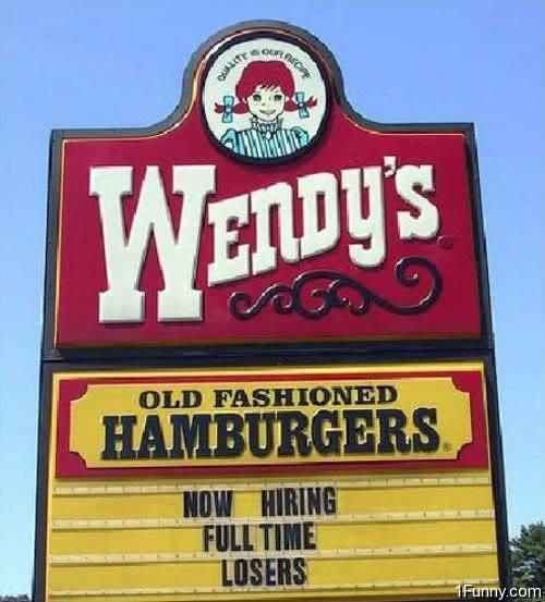 10 FAST FOOD signs that will make you LOL!! Funny