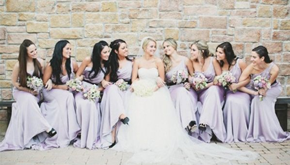 Lavender Is For Bridesmaid Dresses In This Pretty Pale Hue Now