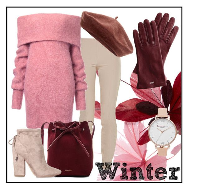 """Winter Sweater"" by anemone-ci ❤ liked on Polyvore featuring Valentino, The Row, Mansur Gavriel, Kendall + Kylie, Mark & Graham, Accessorize, Olivia Burton and wintersweater"
