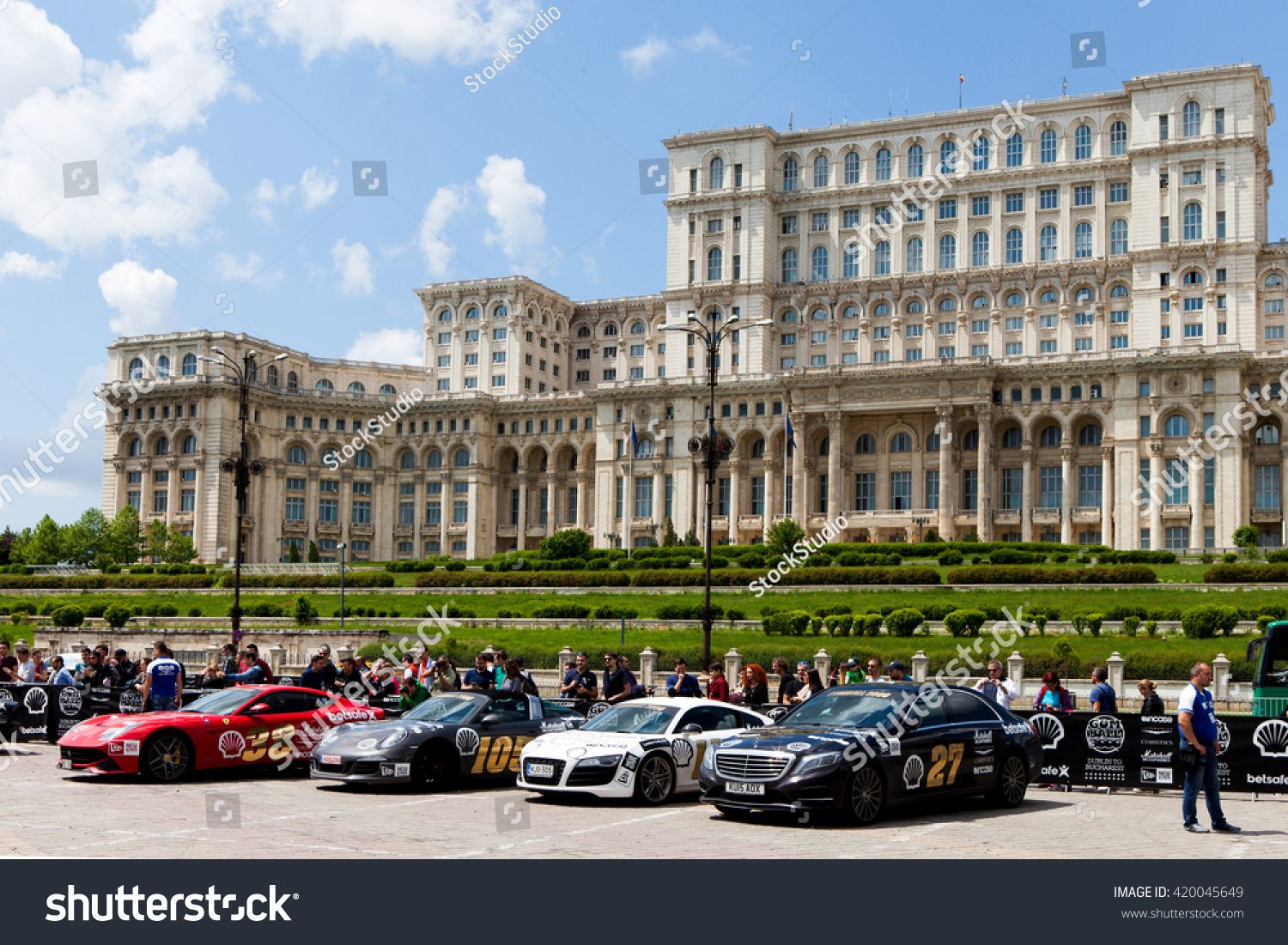 Bucharest, Romania, May 7, 2016 Super cars of the