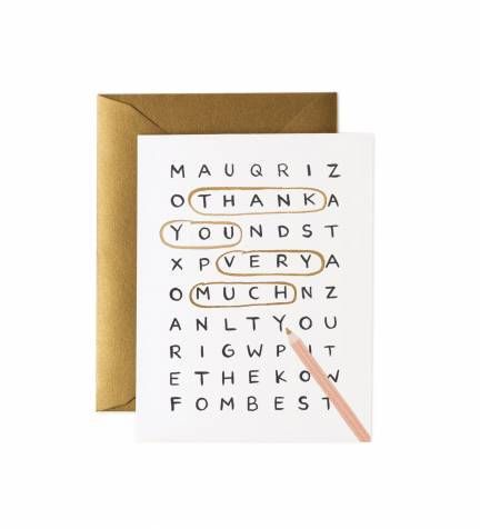 Word search thank you greeting card word search m4hsunfo