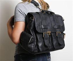 Epiphanie Black London camera backpack // now available!   #Epiphanie -  #Epiphanie - #London #Camera #Bag #Backpack - $224.99