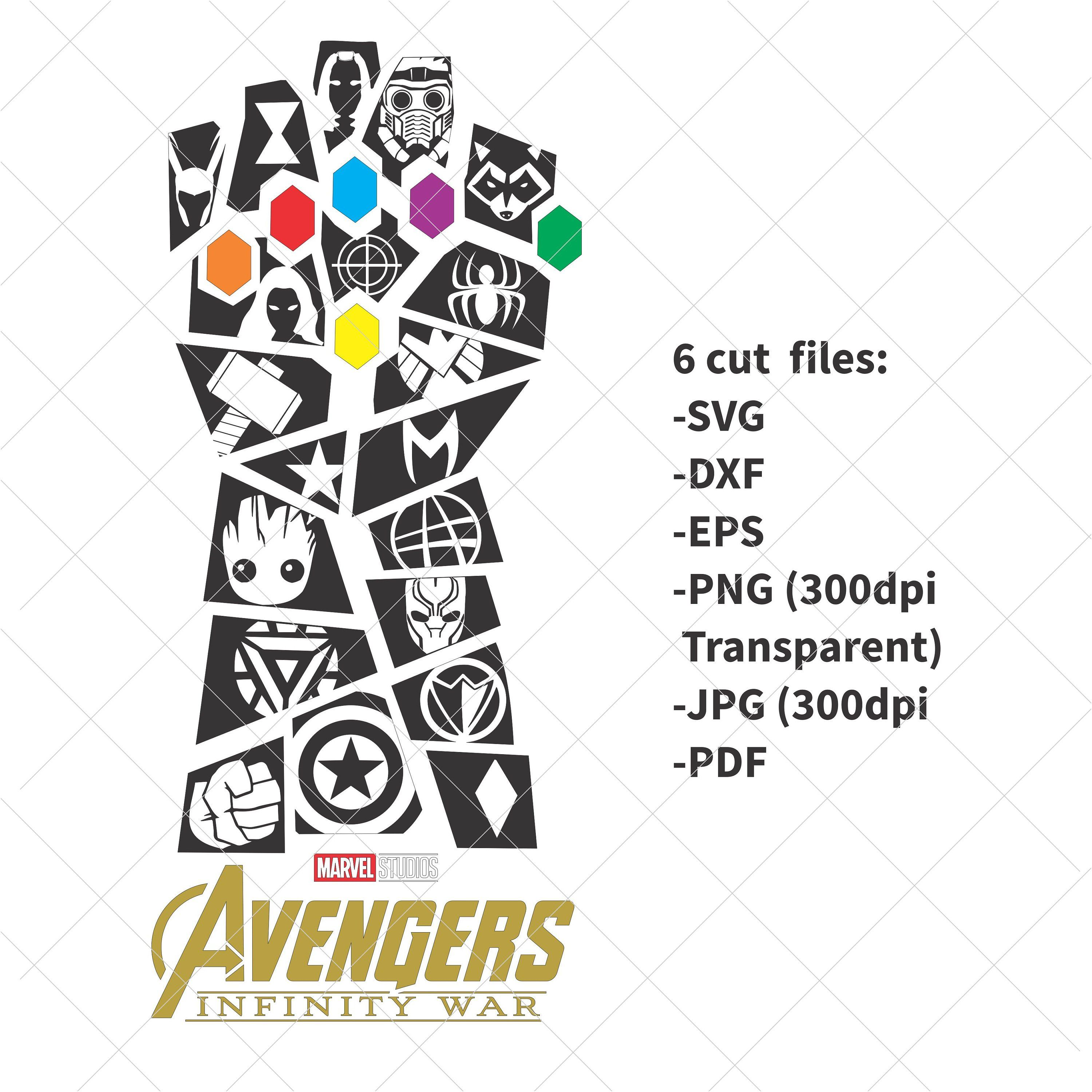 """THANOS Guardians of the Galaxy Funny Vinyl Decal Sticker Car Window laptop 6/"""""""