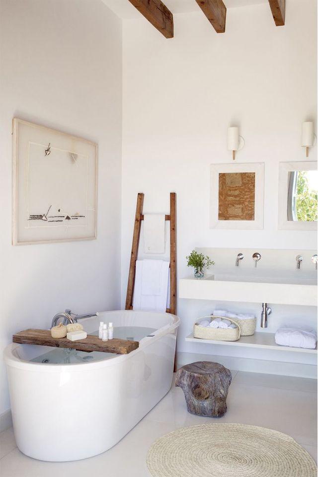 idées déco salle de bain : le pont de baignoire | Interior & Homes ...