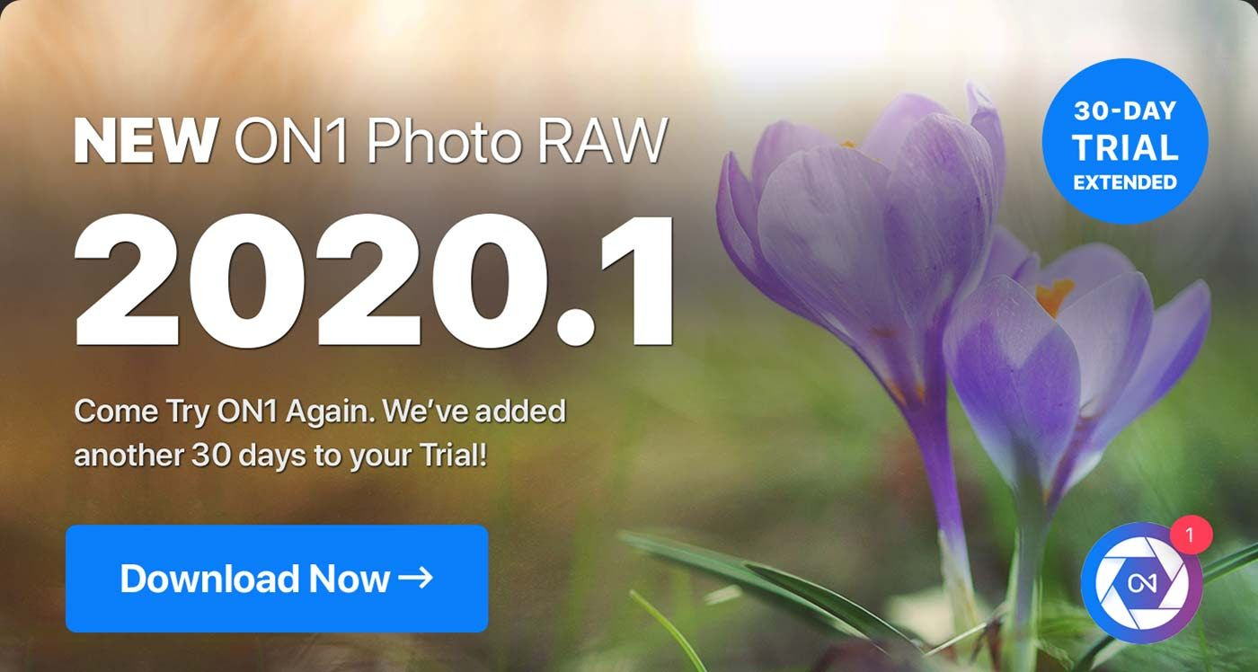 ON1 Photo RAW 2020.1 30 Launch Special Get Limited