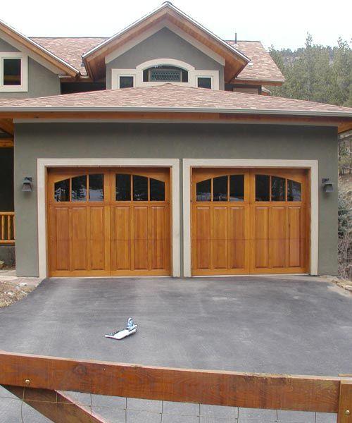 Custom Wood Garage Doors Garage Door Styles Custom Wood Garage