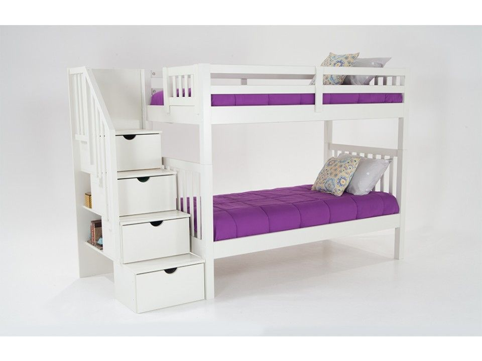 Best Twin Over Twin Bunk Bed Bunk Beds With Storage Bunk 400 x 300