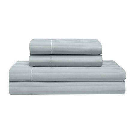 Home Blue Stripes Cotton Bedding Sets Sheet Sets